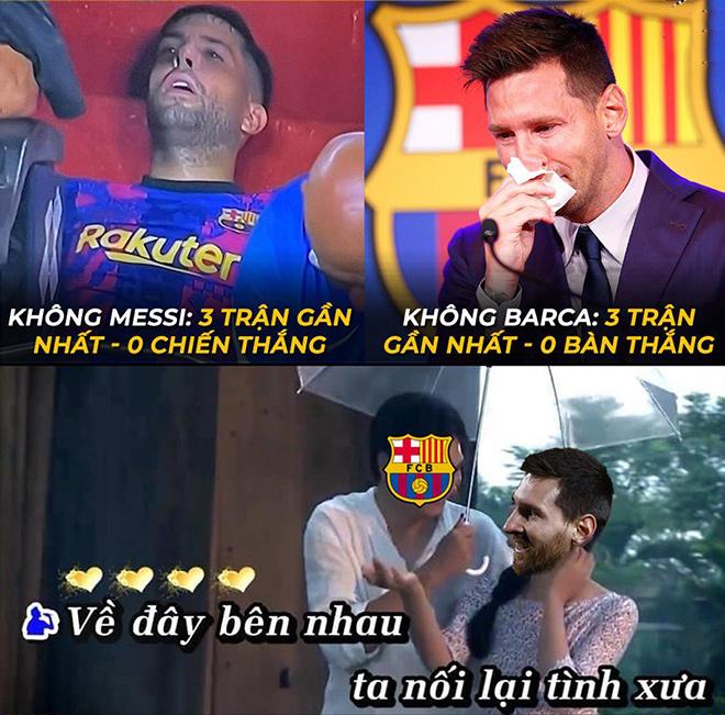 """Ảnh chế: Khi không có Messi, Barcelona biến thành những """"gã hề"""" - 1"""