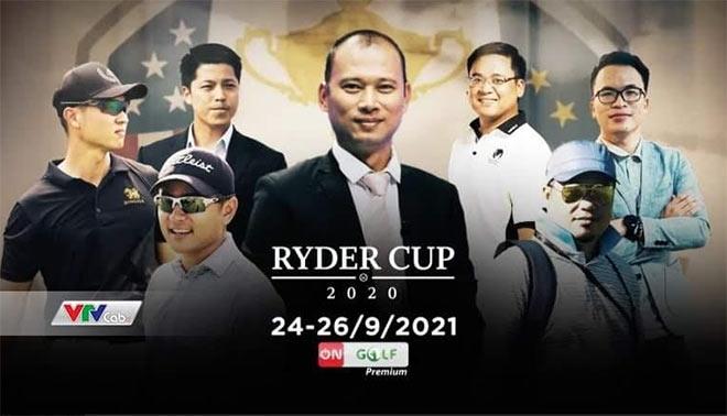Ryder Cup hội tụ các bình luận viên golf chuyên nghiệp tại Việt Nam - 1