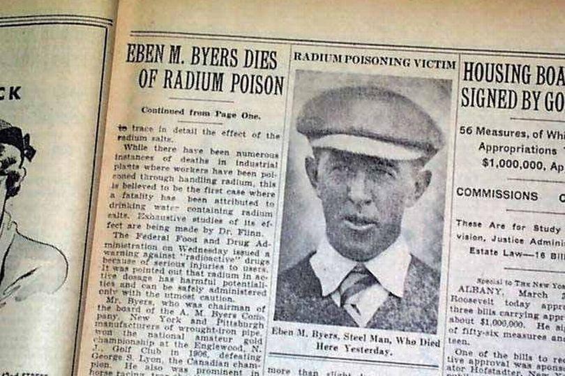 Mỹ: Người đàn ông giàu có hàng ngày uống nước phóng xạ và kết cục hãi hùng - 1