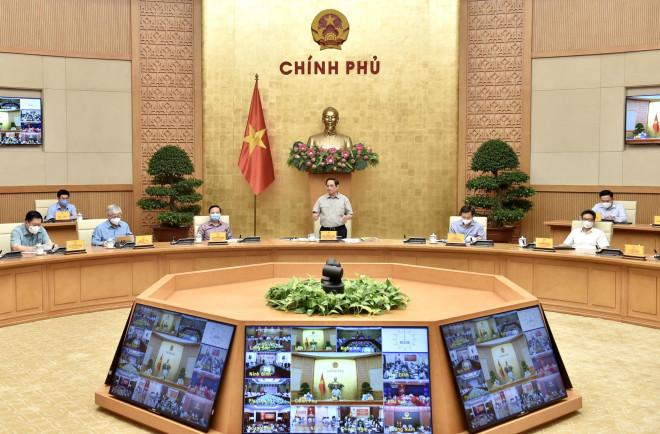 Thủ tướng: Cố gắng đến 30-9 nới lỏng giãn cách để khôi phục phát triển kinh tế-xã hội - 1