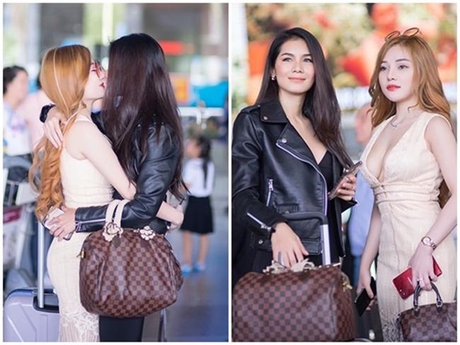 Năm 2018, hot girl Mon 2K (tên thật Trần Ngọc Ánh, từng giành được giải thưởng Á khôi Nét đẹp công sở 2017) gây chú ý khixuất hiện tại sân bay Tân Sơn Nhất (Tp.HCM, Việt Nam). Không những thế, người đẹp 9X còn có hành động thân mật với Nong Nat(tên thật Kesarin Chaichalermpol) - cựu sao phim 18+ Thái Lan.