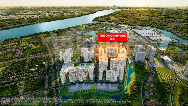 Khám phá cuộc sống cân bằng hiếm có tại The Origami Park – Vinhomes Grand Park - 1