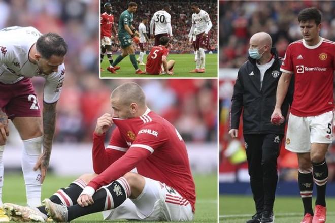 MU lo ngay ngáy vì Maguire - Shaw chấn thương, dễ lỡ đại chiến Villarreal Cúp C1 - 1