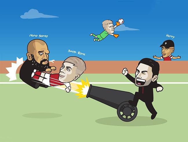 """Ảnh chế: """"Bắn hạ"""" Tottenham, Arsenal cùng nhau giải cứu HLV Arteta - 1"""