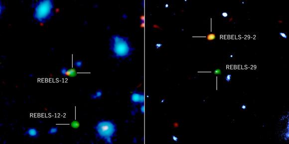 """Ngoạn mục thiên hà """"vượt thời gian"""", hiện về từ quá khứ 13 tỉ năm trước - 1"""