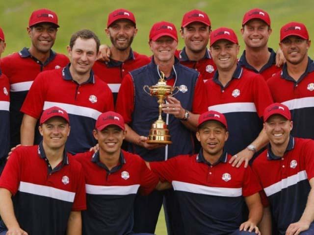 Tuyển golf Mỹ vô địch Ryder Cup 2021 với điểm số kỷ lục - 1