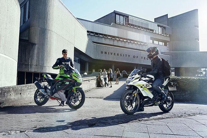 Kawasaki Ninja 125 2022 trình làng: Mạnh mẽ và hiện đại - 1
