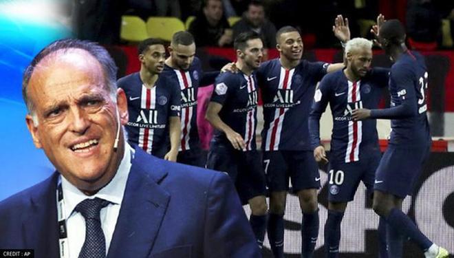 """PSG lại bị sếp La Liga """"gây hấn"""", vạch trần bí mật về Ligue 1 và Messi - 1"""
