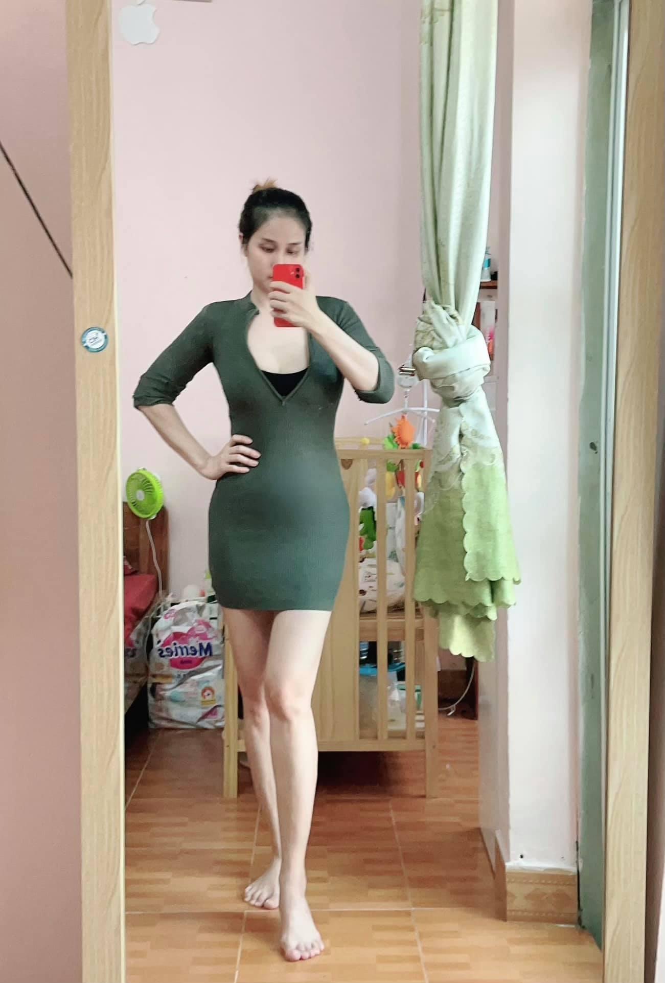 """thao trang 1 1632733276 489 width1301height1922 Vợ cũ Phan Thanh Bình khoe dáng """"mẹ bỉm sữa"""" nuột nà sau khi giảm được gần 3 yến"""