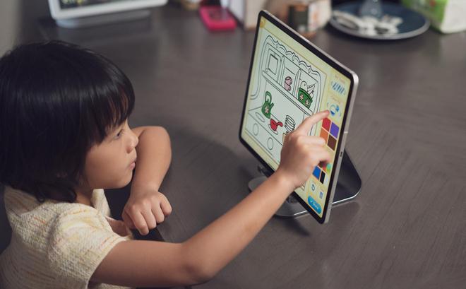 Có tính năng này, cha mẹ an tâm con học online an toàn - 1