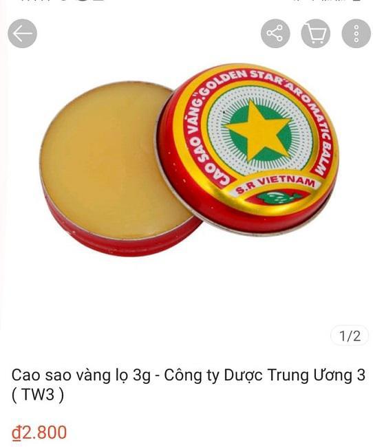 """Cao Sao Vàng 3.000 đồng/hộp ở Việt Nam đang gây """"sốt"""" ở nhiều nước, sốc nhất giá bán cao nhất lên đến 1,4 triệu đồng/hộp - 1"""