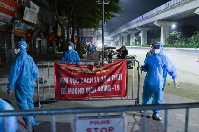 Hà Nội gỡ phong tỏa ổ dịch ngõ 328 Thanh Xuân Trung - 1