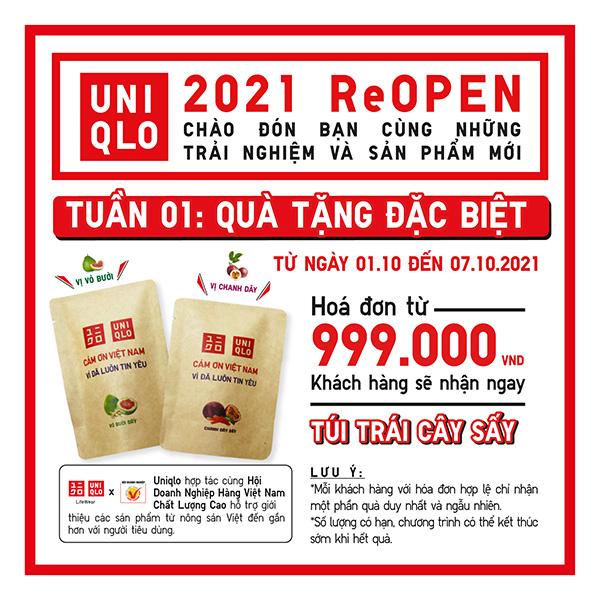Các cửa hàng UNIQLO tại Hà Nội hoạt động trở lại với loạt trải nghiệm - 1