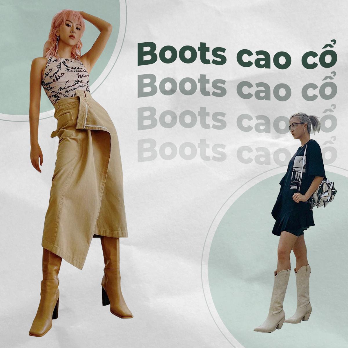 Quỳnh Anh Shyn gợi ý lên đồ sang chảnh, thời thượng với boots khi chớm thu