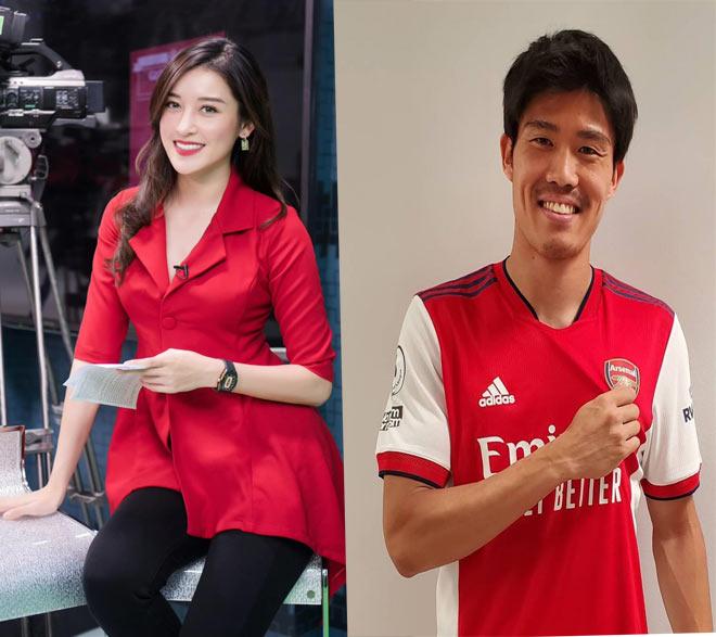 Tomiyasu gây sốc Ngoại hạng Anh giúp Arsenal hồi sinh, Á hậu Huyền My rất thích - 1