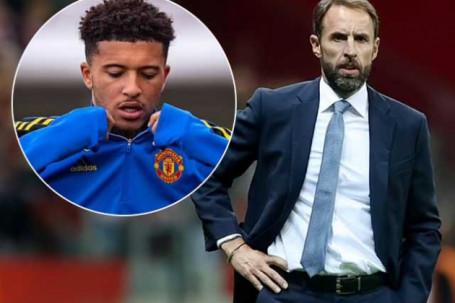 Sancho của MU đá 402 phút 0 bàn, vì sao HLV Southgate vẫn gọi lên ĐT Anh?