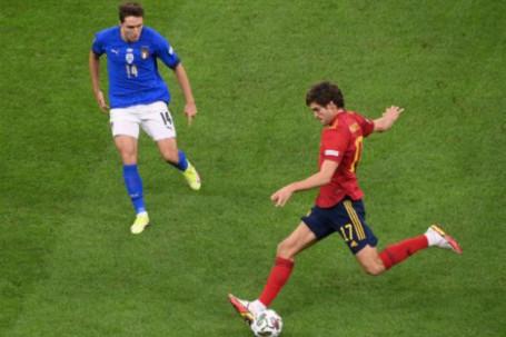 """Trực tiếp bóng đá Italia - Tây Ban Nha: """"Vua châu Âu"""" cạn hy vọng (Nations League) (Hết giờ)"""