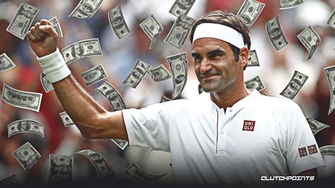 Federer makes extreme money: Skip 10 million USD, earn 60 times more?  - first