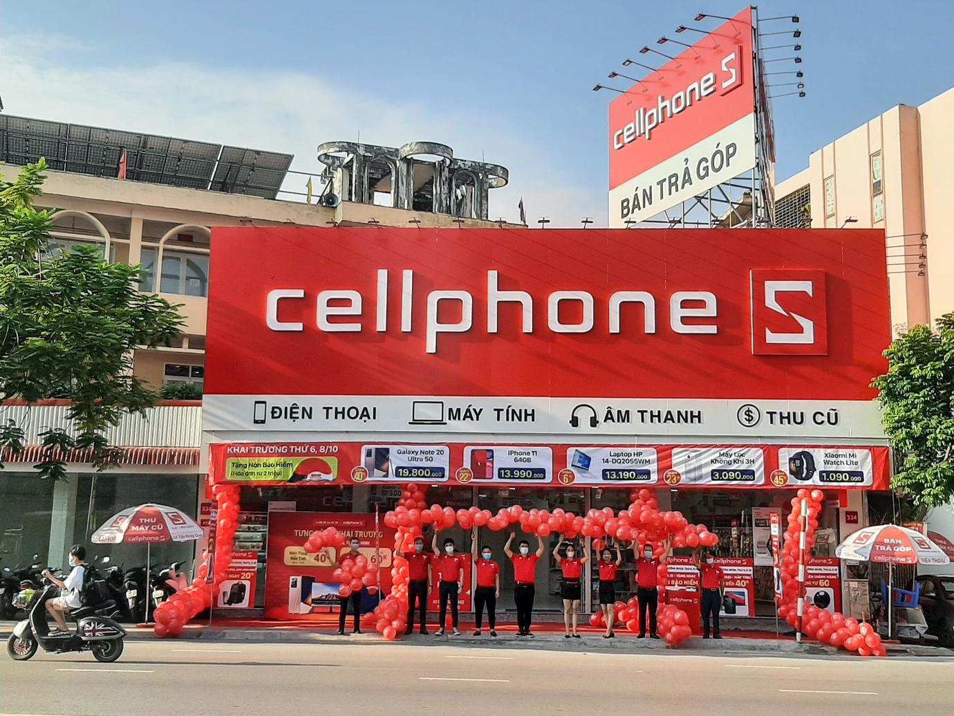 CellphoneS khai trương cửa hàng đầu tiên tại Bắc Ninh - 1