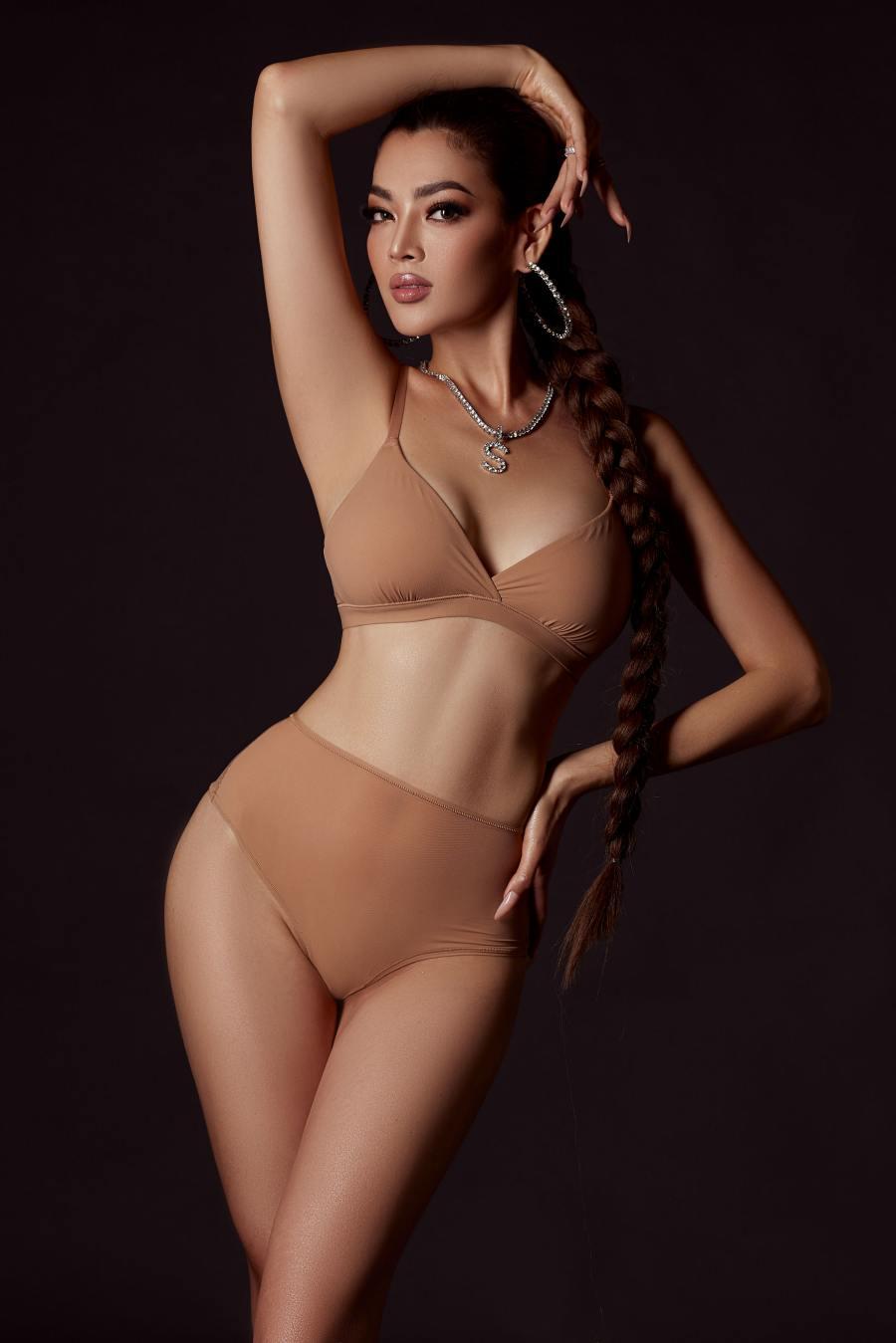 Trân Đài chụp thời trang trước thềm cuộc thi Hoa hậu Chuyển giới quốc tế - 1