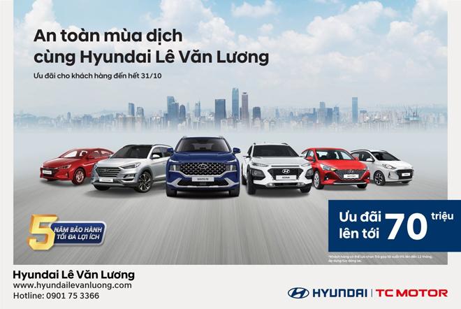 An toàn mùa dịch cùng Hyundai Lê Văn Lương - 1