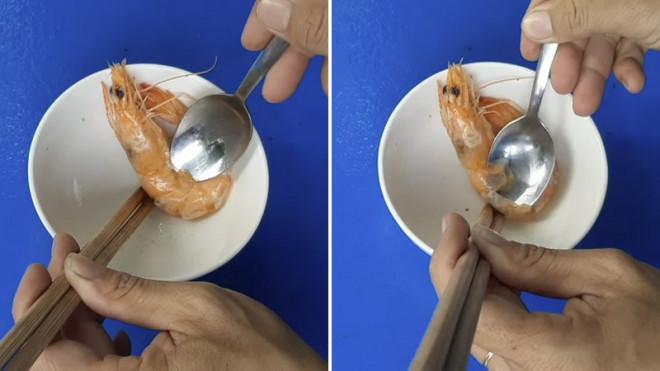 Cách bóc vỏ tôm chín không bị nóng và dây bẩn, còn được khen là khéo léo, duyên dáng khi đi ăn cỗ - 6