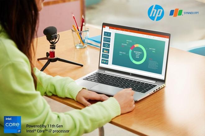 Làm việc tại nhà hiệu quả hơn bao giờ hết cùng HP ProBook 400 Series G8 - 1