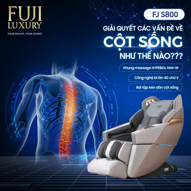"""3 siêu phẩm ghế massage Fuji Luxury tốt cho xương khớp đang được """"săn đón"""" - 1"""