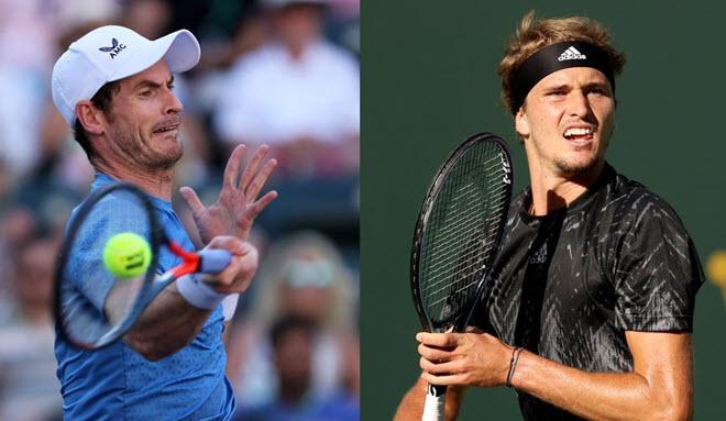 """Mãn nhãn tennis đỉnh cao, Murray điều bóng khiến Zverev """"chạy bở hơi tai"""" - 1"""