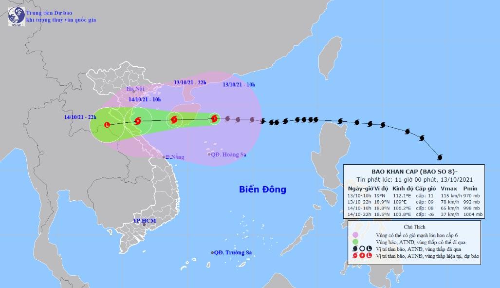 Vì sao bão số 8 Kompasu giảm nhanh cấp độ khi tiến gần đất liền nước ta? - 1