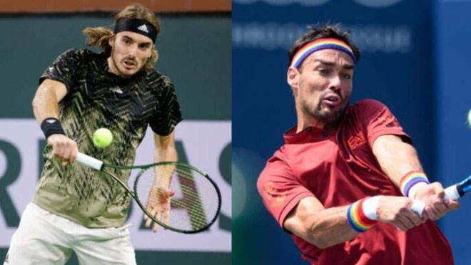 Video tennis Fognini - Tsitsipas: Ngược dòng kịch tính, gieo sầu trai ngông (Vòng 3 Indian Wells Masters) - 1