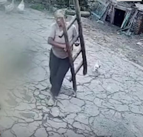 Lý do người mẹ liên tục bắc thang lau camera khiến dân mạng xúc động - 1