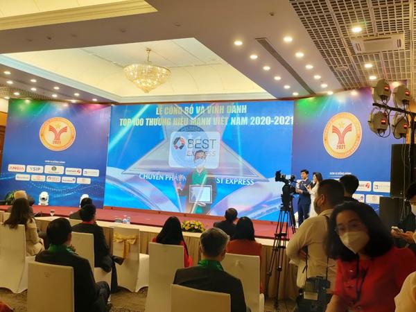 BEST Express đạt giải Thương hiệu mạnh Việt Nam năm 2021 - 1