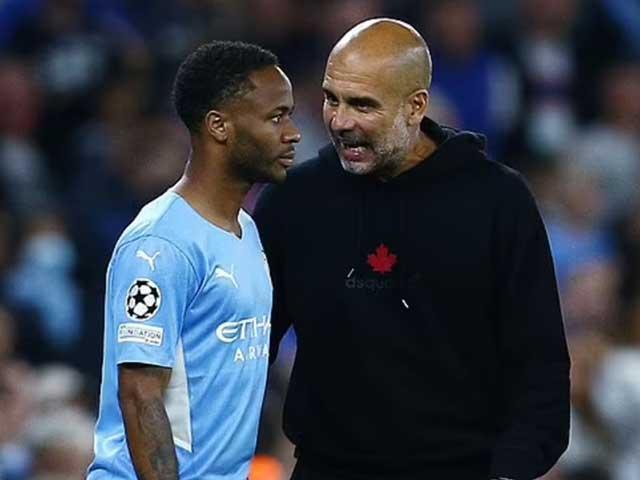"""Man City nổi """"sóng ngầm"""": Sterling hục hặc với Guardiola, tương lai bất định - 1"""