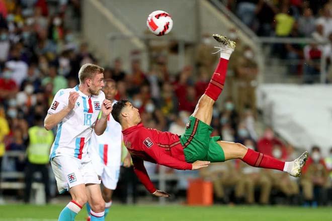 Tuyệt đỉnh Ronaldo 115 bàn ĐTQG: Tiếc vì hụt siêu phẩm xe đạp chổng ngược - 1