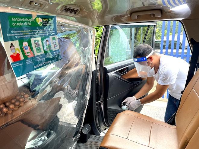 Taxi công nghệ GrabCar, beCar hoạt động trở lại tại Hà Nội - 1
