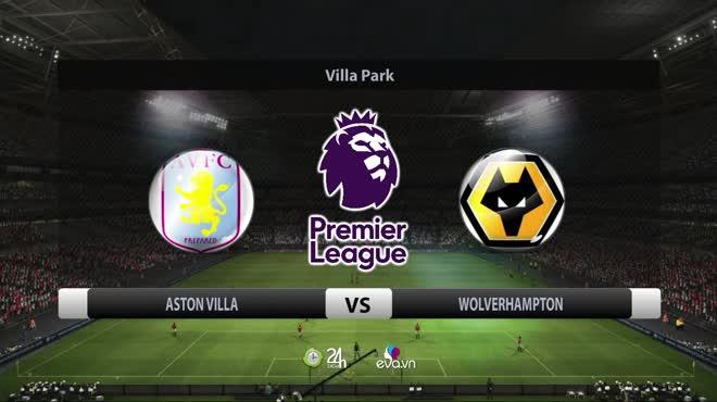 Video bóng đá Aston Villa - Wolverhampton: Ngược dòng kinh điển, sốc nặng phút 90+5