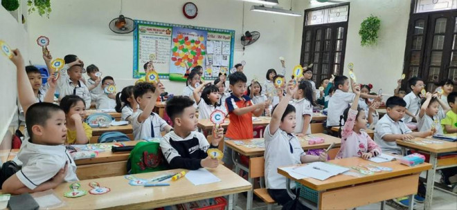 Sớm đón học sinh trở lại trường