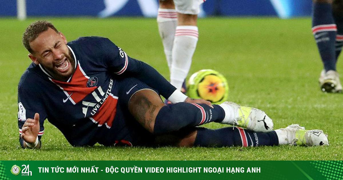 Tin mới nhất bóng đá sáng 19/10: PSG mất Neymar trận gặp Leipzig tại Cúp C1