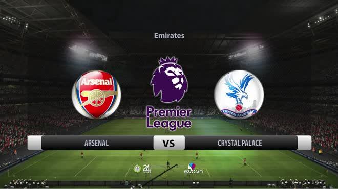 Video bóng đá Arsenal - Crystal Palace: Rượt đuổi kịch tính, điên rồ phút 90+5 (Vòng 8 Ngoại hạng Anh)
