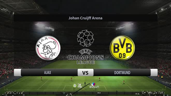 Video bóng đá Ajax - Dortmund: Cú sốc 4 bàn, người cũ MU tỏa sáng (Cúp C1)