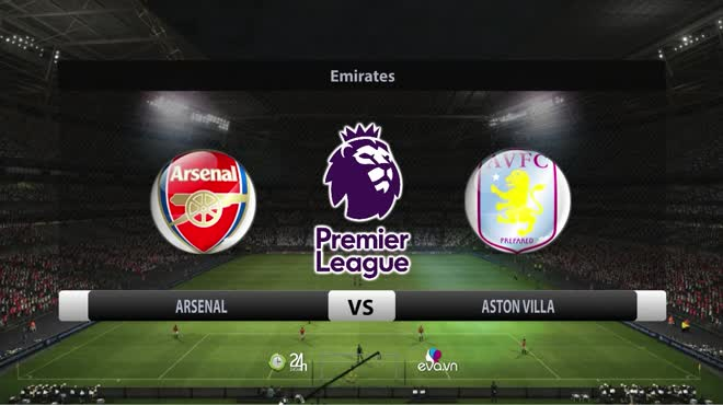 Video bóng đá Arsenal - Aston Villa: Ban bật tưng bừng, bằng điểm MU (Vòng 9 Ngoại hạng Anh)