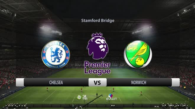 Video bóng đá Chelsea - Norwich: 7 bàn tưng bừng, sức mạnh vượt trội (Vòng 9 Ngoại hạng Anh)