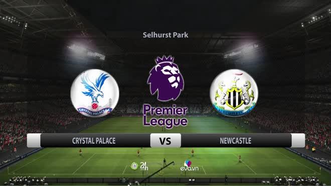 Video bóng đá Crystal Palace - Newcastle: Vỡ òa siêu phẩm & VAR giải nguy (Vòng 9 Ngoại hạng Anh)