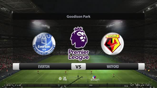 Video bóng đá Everton - Watford: Hat-trick khó tin, ngược dòng kinh điển (Vòng 9 Ngoại hạng Anh)